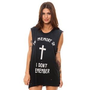 UNIF Tank In Memory of I Don't Remember Size Large